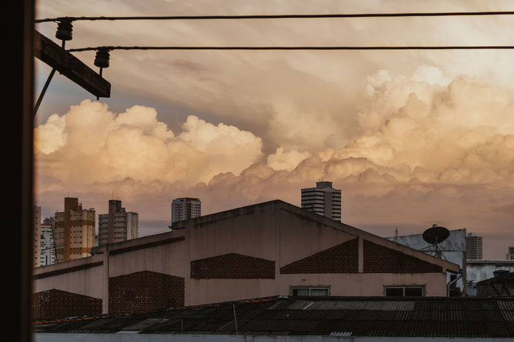 Dramatic thunderstorm with high cumulonimbus clouds over Belém, Brazil Architecture Sunset Nature No People Outdoors Building City Sky Cloud - Sky Thunderstorm Dramatic Sky Brazil Clouds And Sky Cumulonimbus Cumulus Cloud Rain Storm Nature Environment Ecology Climate Climate Change Danger Scenics City