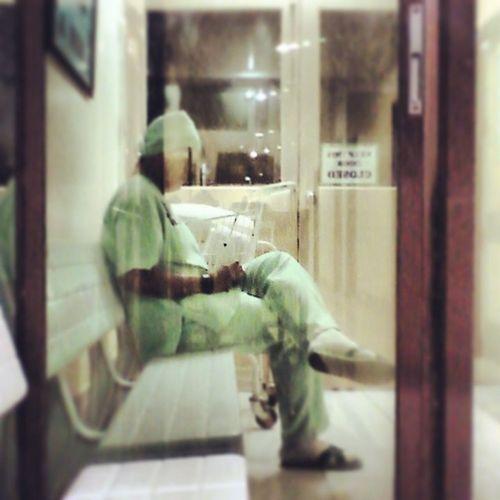 Hinihintay ka ng puso ko... Char ORnurse  Nursing Studentnurse SUCN CompletionDuty Green Waiting Chill