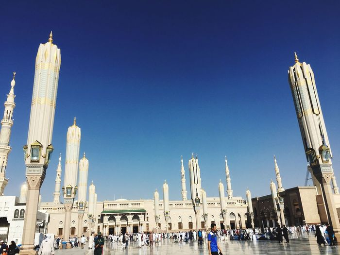 Mosque. Sky Blue Tranquility Scenics Photography Themes Architecture EyeEm Best Shots Week On Eyeem Weekendtrip