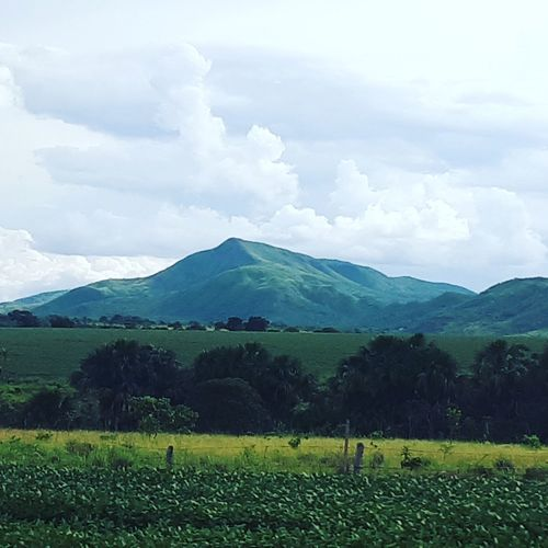 A beautiful afternoon in the region of Father Bernardo - Brazil Social Issues Landscape Cloud - Sky Mountain Agriculture Field Nature