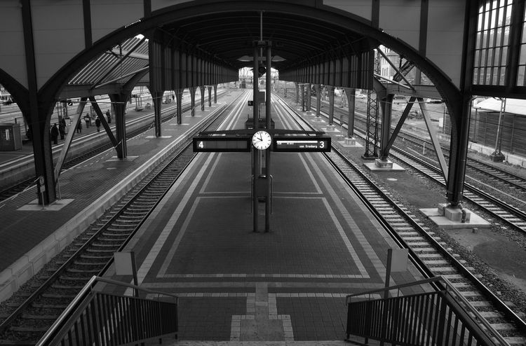 Transportation Architecture No People High Angle View 🇩🇪Germany Darmstadt, Germany Bahnhof Welcome To Black