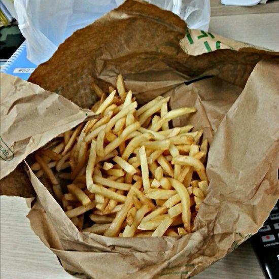 My potato sticks♥ Night McDonald Potato Sticks instalicious delicious yummy now food korea