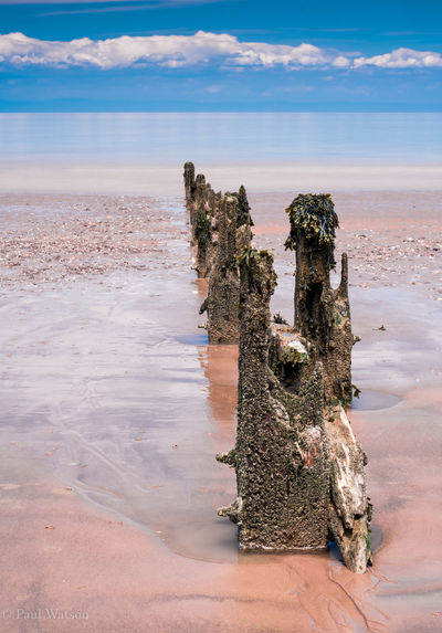 Beach Beauty In Nature Cloud - Sky Day Eroded Groyne Horizon Horizon Over Water Land Landscape_photography Nature No People Non-urban Scene Outdoors Scenics - Nature Sea Seascape Sky Solid Tranquil Scene Tranquility Water