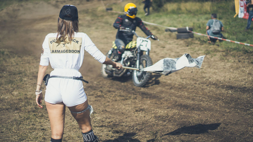 Adult Adults Only Athlete Competitive Sport Day Dusty Track Finish Line  Grass Headwear Moto Motorcycle Motorcycles Nasmgraphia Outdoors People Sport Sports Clothing Sports Event  Young Adult