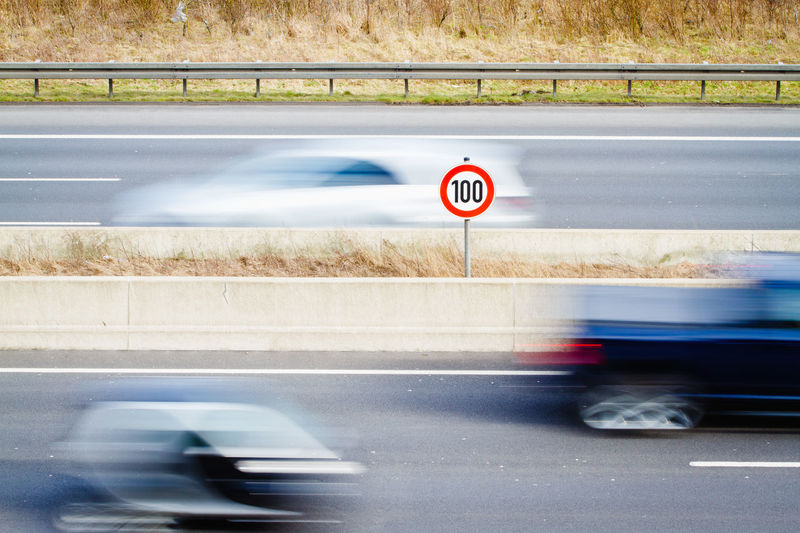 100 Blurred Motion Car Cars Direction Driving Highway Highwayphotography Land Vehicle Mode Of Transport Q Quickly Speed Speed Limit Speed Limit 100 The Way Forward Traffic Sign Transportation