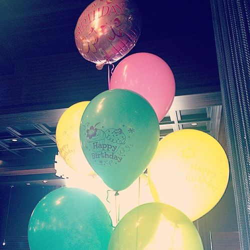 It's a (secret) party y'all! Happy birthday Grandma!