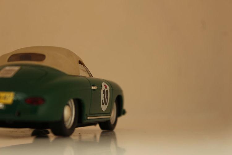 38 Car Green Model No People Porche Racecar Transport