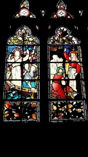 Window Stained Glass Indoors  No People Architecture Day History St Martin's Church Symbolic  Religion Place Of Worship Stained Glass
