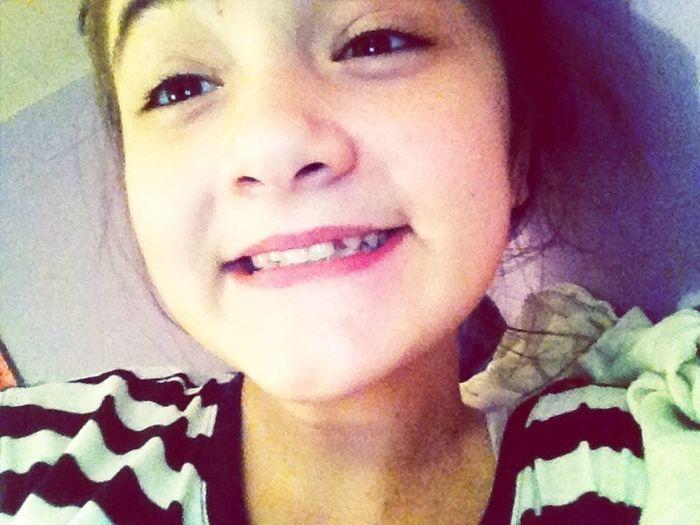First Time I Showed My Teeth .. Ugh Its W.e