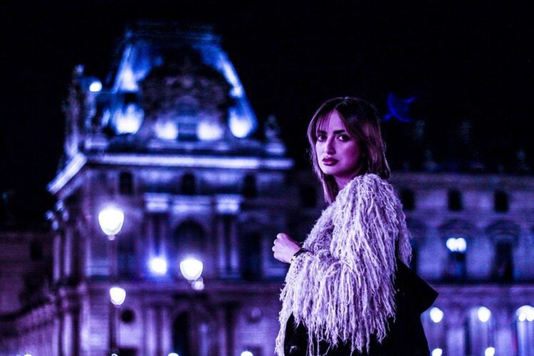 Midnight in Paris Model Paris Saint Germain Musée Du Louvre Europe Canon 5d Mark Lll Primeshots German Girl Love