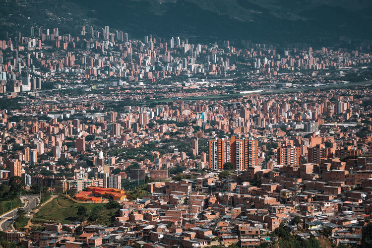 Exploring the city of Medellín. Architecture Building Exterior Built Structure City Nature Outdoors Travel Destinations South America Latin America Explore Urban Cityscape Building Residential District Crowd Crowded High Angle View Aerial View Office Building Exterior Community Religion City Life Skyscraper Modern Urban Sprawl
