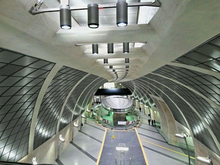 Das im Bau befindliche Raumschiff Voyager wartet noch auf seine Fertigstellung. Startrek Cologne
