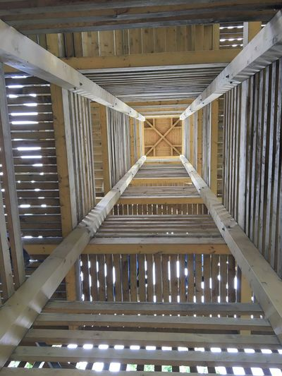 Architecture Built Structure No People Indoors  Pattern Illuminated Ceiling Wood - Material Building Directly Below