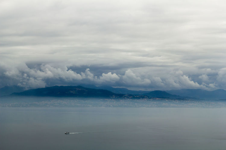Cloud Cloudy Fishing Boats Galicia Galicia, Spain Landscape_Collection Peace Beauty In Nature Cloud - Sky Clouds Clouds And Sky Fishing Boat Galiza Landscape Landscape_photography Landscapes Nature No People North Spain Sea Sea And Sky Sky Tranquil Scene Tranquility Water