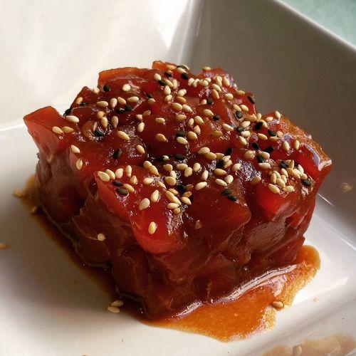 Atùn Atún Rojo Tuna Tartar  Delicious Delicioso Almadraba Foodporn Yummy Mizüshi