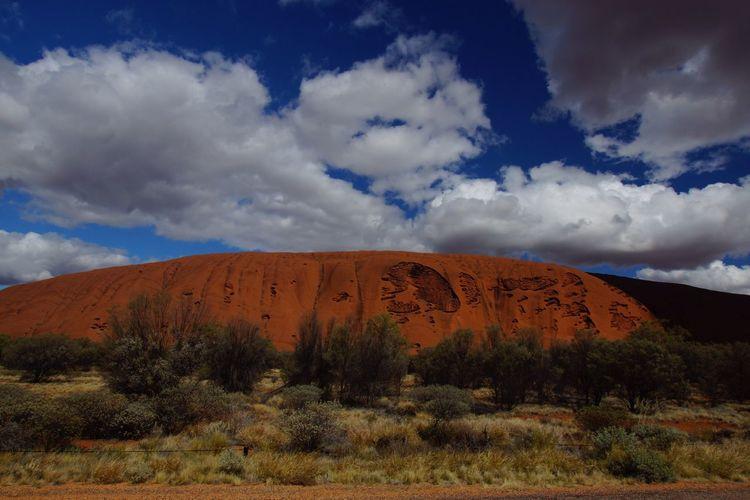 Australia Uluru Kata Tjuta National Park Outback Ayers Rock Landscape Aboriginal Land Sacred Places