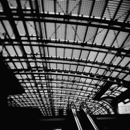 Architecture Built Structure Public Transportation Streetphotography First Eyeem Photo Stationwagon Photographing City People Indoors  Ceiling Low Angle View Roof No People Day