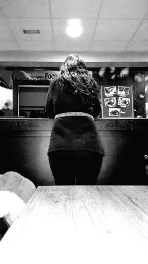 Lady in the bar Lady In Black Elégance Elegant Standing EyeEm Selects Bar Tender Customer  Cafe Cafe Time Intimate Light Source Intimate Intimate Moment Lady Girl Back Anonimous Secret Secret Love Who Who Is She? Black Hair Women One Young Woman Only Rear View Real People One Person Lifestyles Warm Clothing