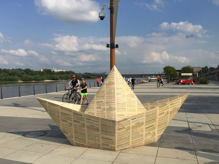 The art of Marek Sułek. Traveling Tadaa Community Art Travel Boat Origami Marek Sułek Warsaw Poland Check This Out The Purist (no Edit, No Filter)