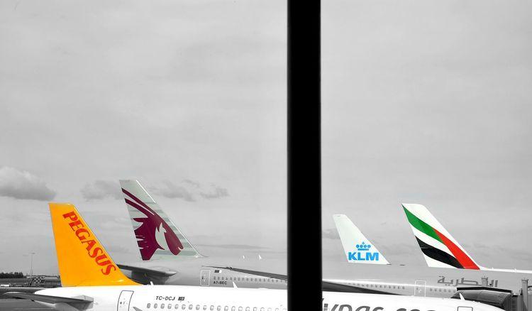 Miles Away Airport Technology No People Pegasusairlines KLM Airplane Flugzeug Worldwide_shot International Airport EyeEm Best Shots Behind The Window Emiratesairline Sommergefühle