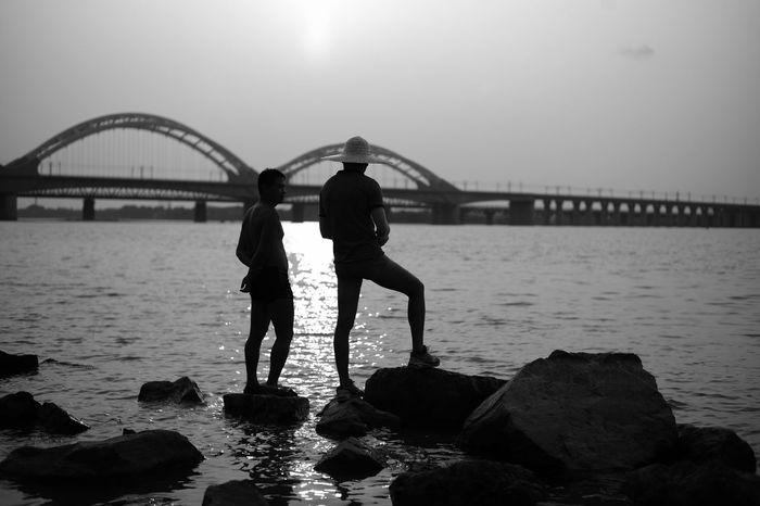 riverside Leicam EyeEm Capture The Moment EyeEm Best Shots Leicacamera River Light And Shadow Streetphotography Bridge Haerbin