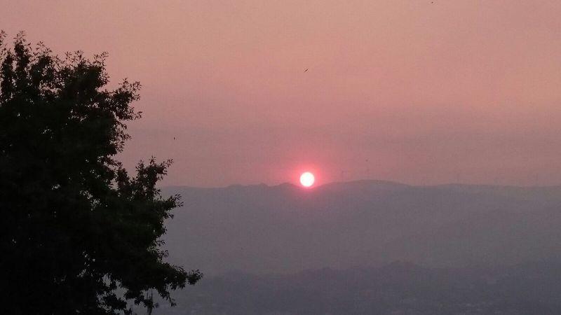 The sun * the fier