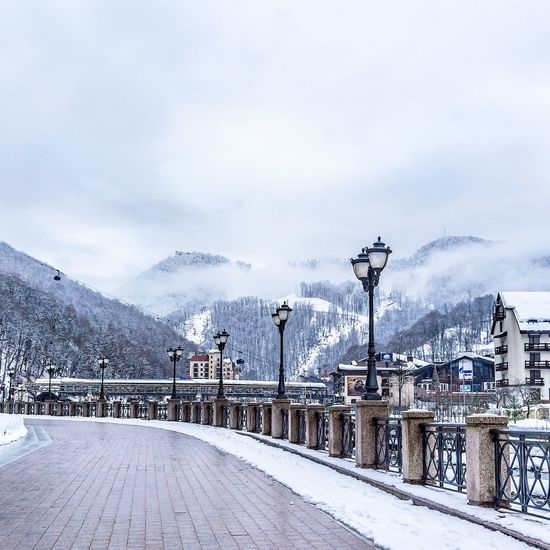 EyeEm Selects Sochi Winter_collection Russia Sochi Winter Travel Destinations Travel Travel Photography Traveler Travelingram Outdoors Frozen No People Nature Cold Temperature