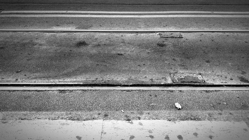 Orizzonti, Multi Frequenza, Calma, Black & White Bianco E Nero Street Immagination Rithm Asfalto Urban Geometry