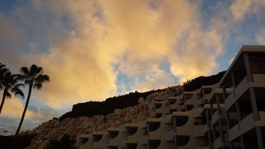 PlayaDelCura Gran Canaria Sky And Clouds Landscape