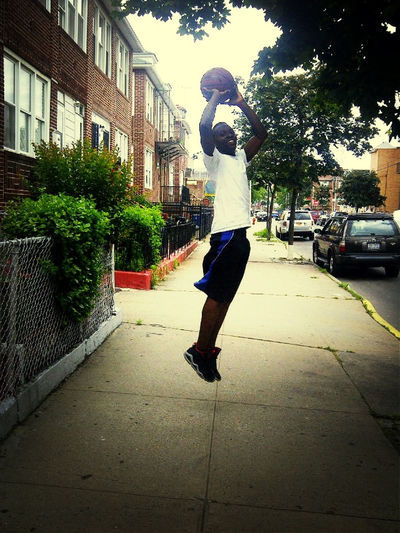 Not a basketball player but my form looks so real