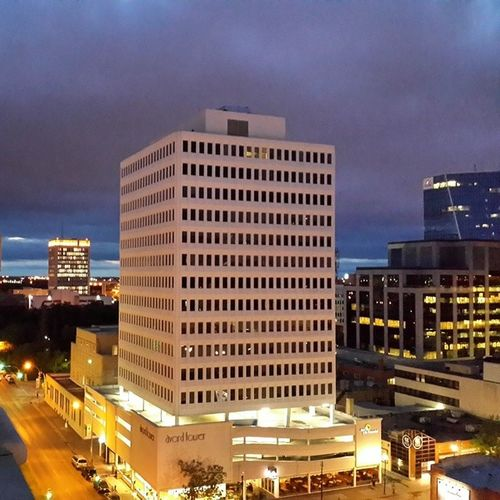 It's turning out to be a gorgeous evening in Yqr SK  Reginask Downtown city citylights sky twilight clouds cloudporn skylovers skypainters ladd00 scenery canada explorecanada travelcanada prairielife prairies prairieskies landoflivingskies Saskatchewan sask