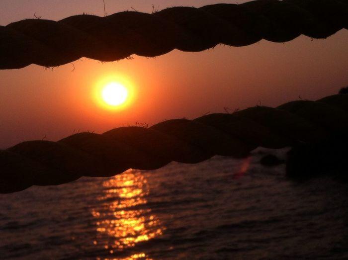 Goa Sunset Motog Turbo Photography Beautiful Nature EyeEm Nature Lover Sky Beach No Fliter