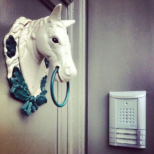 Doors Door Horse Doorbells