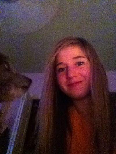 My Dog And I Say Good Night :)
