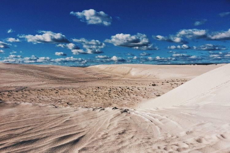 Sand Beach Sky Cloud - Sky Blue Nature Outdoors