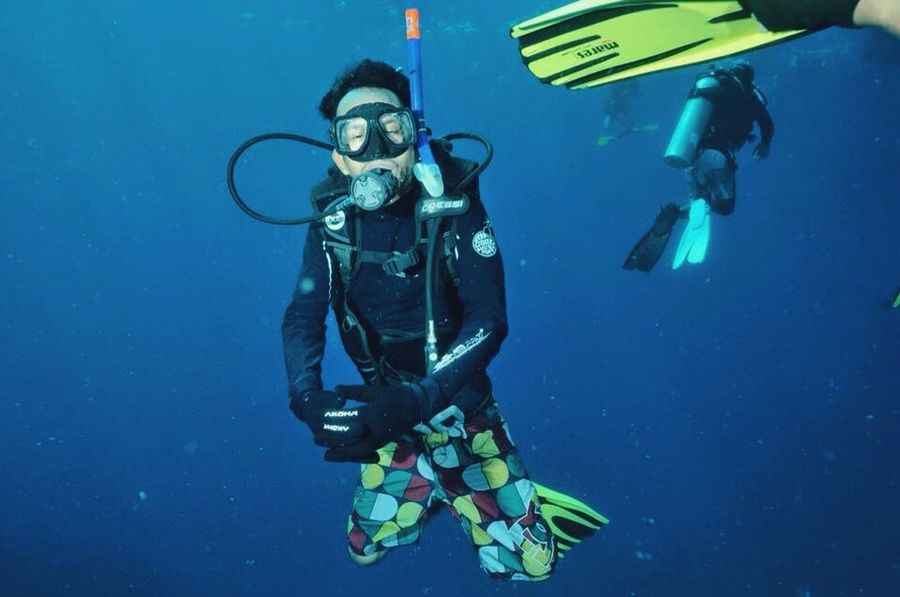 Big Sleep Big Dream Happyoceangang Afterschoolpalace The Sound You Need Tioman Tigerreef Malaysia Scubadiver Diver Ocean