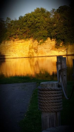 On The Dock Check This Out Picturejunkie Taking Photos Iowariver River Cliffs Pretty♡ The Essence Of Summer