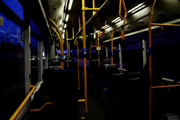 Buss Travel Train - Vehicle Vehicle Seat Transportation Night Bus Buss Yellow Blue Canon 1000D Photographing Photography EyeEmNewHere Canon Outdoors People
