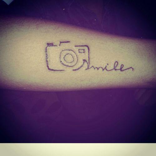 My First Tattoo! Biraz acısada değdii
