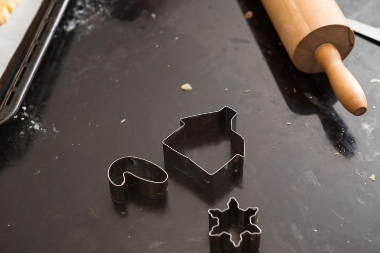 Rolling Pink & Baking Utensils Christmas Holidays Bake Baking Cookie Cutter Kitchen Rolling Pin Tools