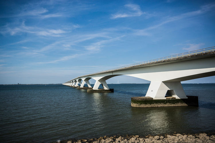Architecture Bridge - Man Made Structure Built Structure Connection Day Nature No People Outdoors Sky Transportation Water Zeelandbrug Zeelandbrücke Zeeland❤️