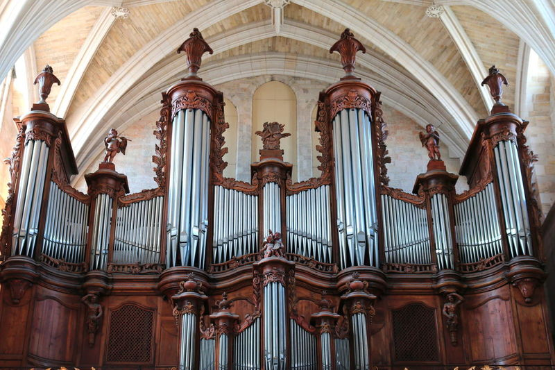 Bordeaux Bordeaux, France Catholic Architecture Arts Culture And Entertainment Baroque Style Catholic Church Churches Day History Iglesia Indoors  Low Angle View Music Musical Instrument No People Place Of Worship Religion Spirituality Travel Destinations