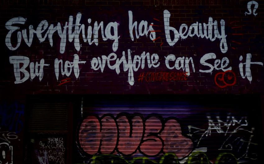 Welcome To Black Text No People Communication Illuminated Neon Outdoors Day Melbourne City Melbourne Graffiti Melbourne Laneways Downtown Night Lights Black Urban Melbourne Melbourneiloveyou Stay Beautiful Affirmation Motto Graffiti Wall Brick Wall