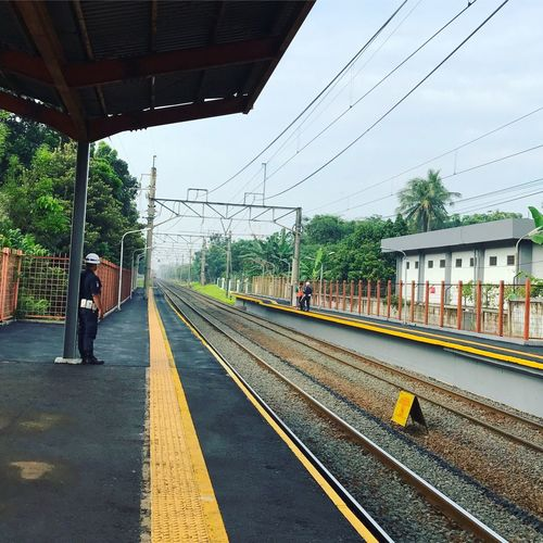 Stasiun KRL Tanjung Barat, South Jakarta. A Place By ITag The City I Live In