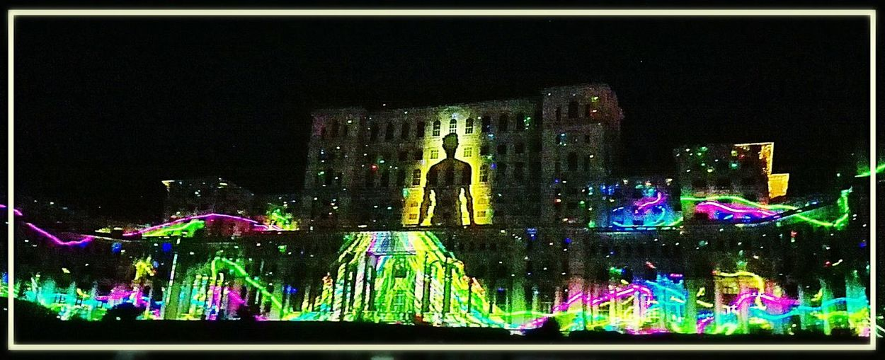 Bucharest Imapp 2016 Nightphotography Festival Season 8K Taking Photos Of People Taking Photos MusicMatters Projection Mapping Lightpainting Paint The Town Yellow