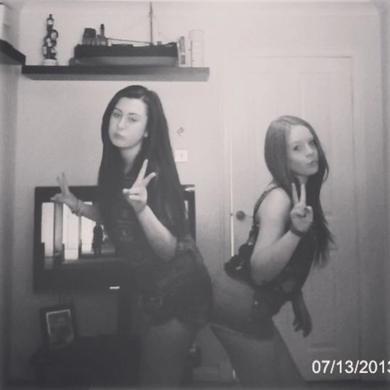 Me and the bestfriend Bums Out LOL Sluts