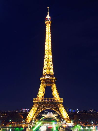 Dreaming of Paris Paris Architecture Built Structure Travel Destinations City Illuminated Tower Tall - High Sky Tourism Night Travel