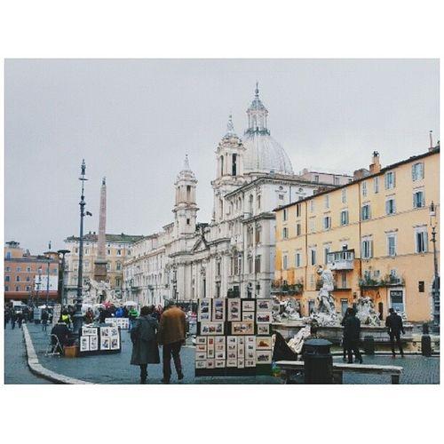 Piazza Navona, Roma. Rome Italy Travel
