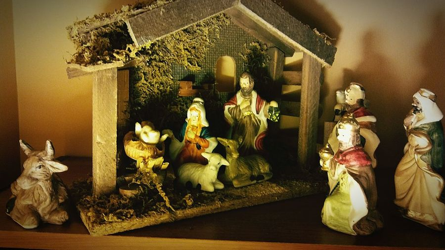 Christmas Statue No People Figurine  Christmas Decoration Baby Jesus Jesus Jesus Nativity Nativity Scene NativityScene
