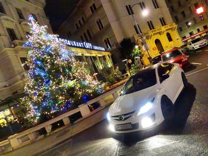 Mazda6 Mazda Mazdaspeed Vienna Wien Austria Christmas Lights Christkindlmarkt Christmastime Christmastree